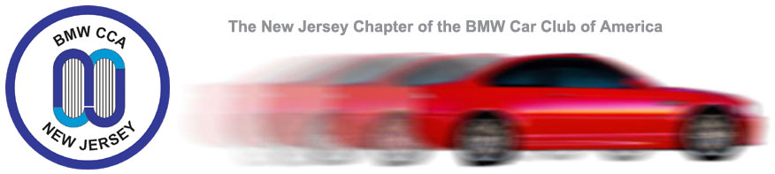 The New Jersey Chapter of the BMW Car Club of America